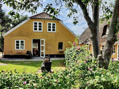 De oude schoenmaker 's cottage in Slotssjön in Gråsten