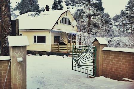 Уютный коттедж около г.Сортавала - Sortavala - Casa