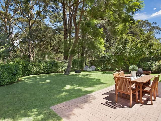 Californian bungalow in bush setting 10min to city - Sydney - House