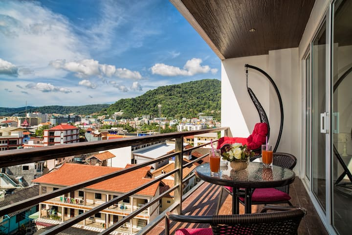 Modern Studio with Scenic Cityscape @Patong, 50sqm