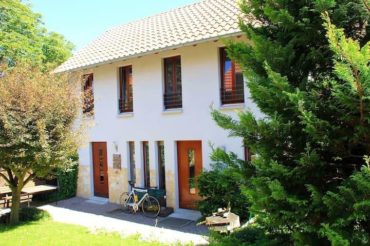 Moderne Urlaubswohnung in verträumter Lage - Mönchenholzhausen - Apartment