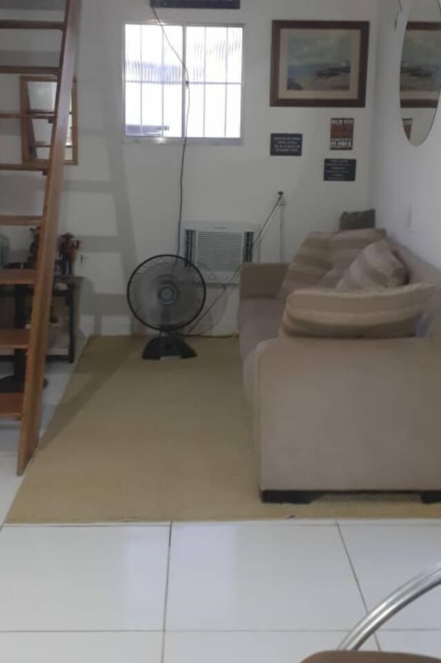 Uma sala aconchegante para vc desfrutar