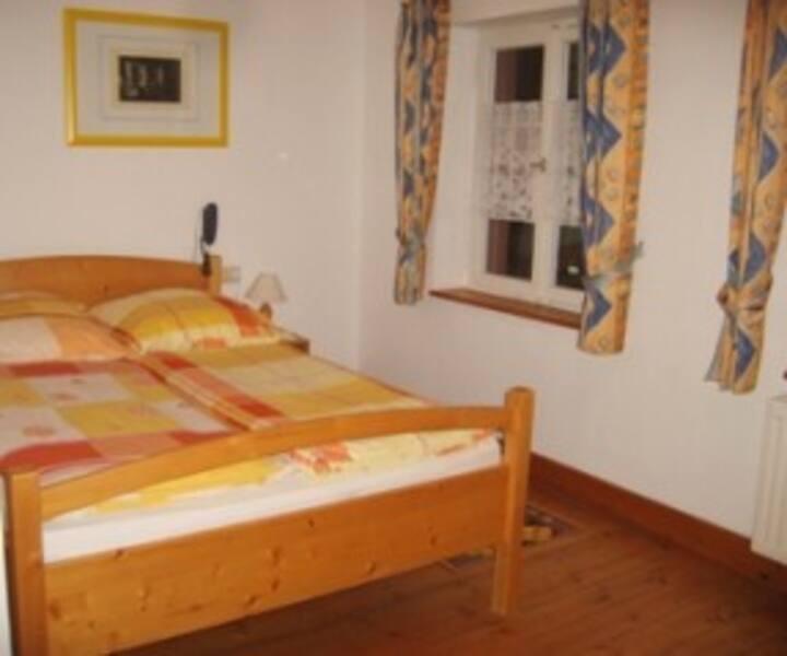 Pension Sonne, (Rickenbach), Doppelzimmer mit WC und Dusche