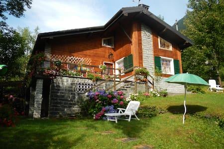 Romantico chalet montagna Macugnaga - Macugnaga - Blockhütte