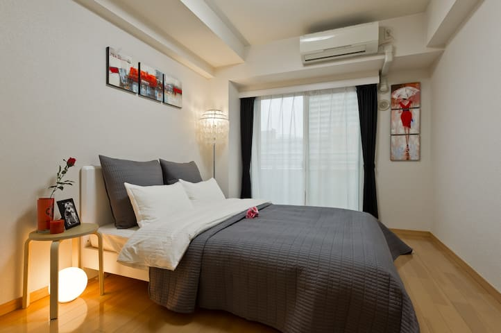 Modern 1 BR in Ginza Area 1min to Sta. - 中央区 - Appartement
