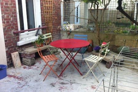 Maison avec jardinet proche Roissy et Paris centre - Le Bourget - Дом