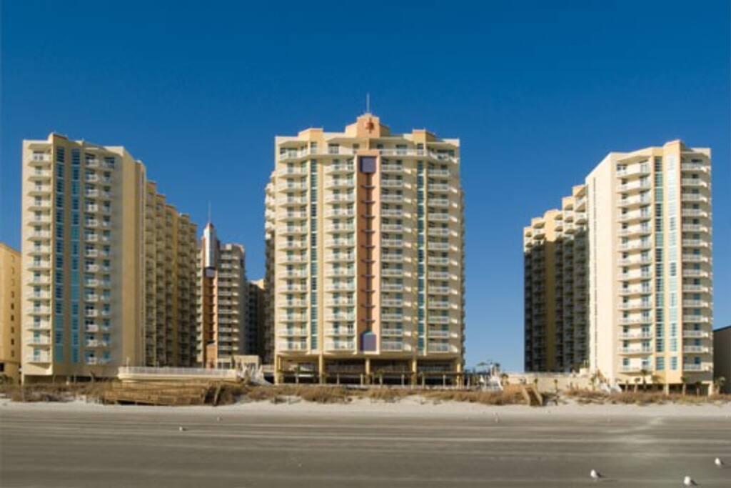3 Bd Oceanview At Ocean Blvd N Myrtle Beach Villas For Rent In North Myrtle