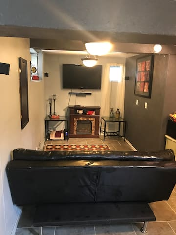 Over-Nighter Rider—Lower Level of the Home