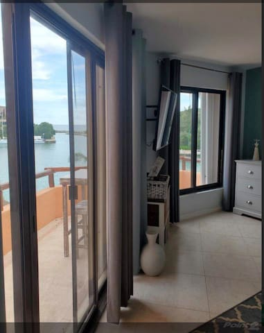 Go straight from bed out to the bedroom balcony as soon as you wake up