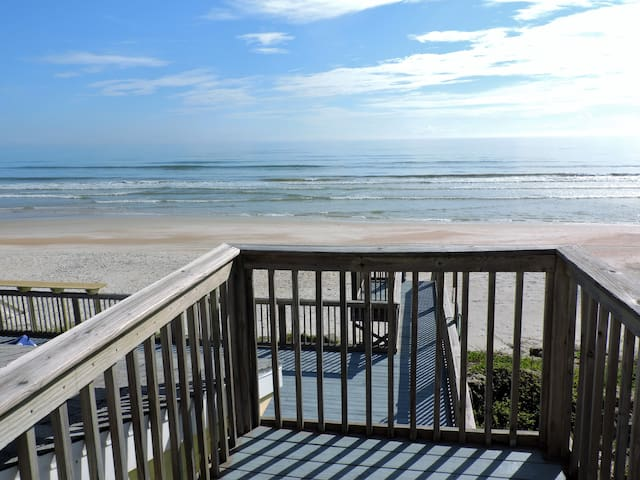 Direct Oceanfront New Smyrna Beach House private - New Smyrna Beach - Rumah