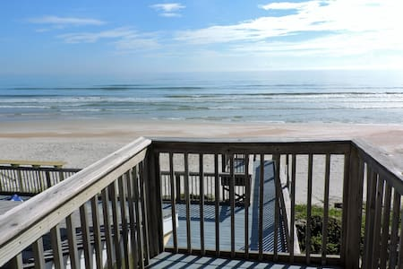 Direct Oceanfront New Smyrna Beach House private - New Smyrna Beach - Huis