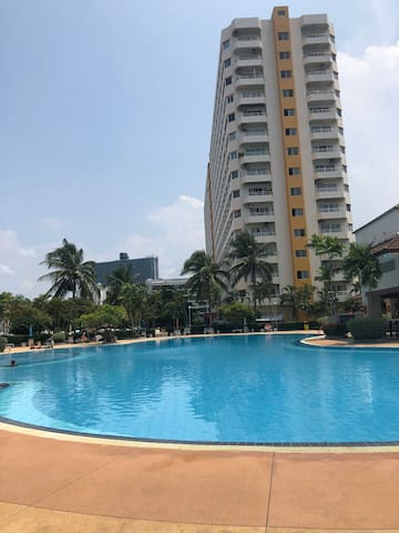 Jomtien View Talay 1 Studio Apparment
