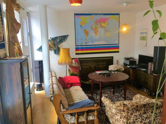 2-Raum-Wohnung im Herzen der Dresdner Neustadt
