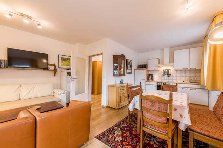 "Wonderful Apartment ""Alpenblick No. 8"" with Wi-Fi, Garden, Balcony & Sauna; Parking Available"