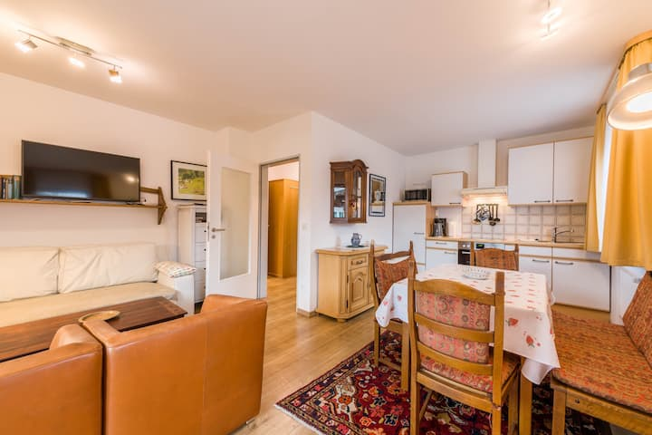 Wonderful Apartment Marinas Alpenblick with Wi-Fi, Garden, Balcony & Sauna; Parking Available