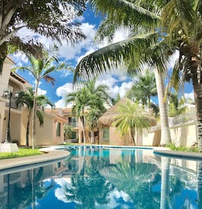 Entire expat family residence: security, pool! - Cancún