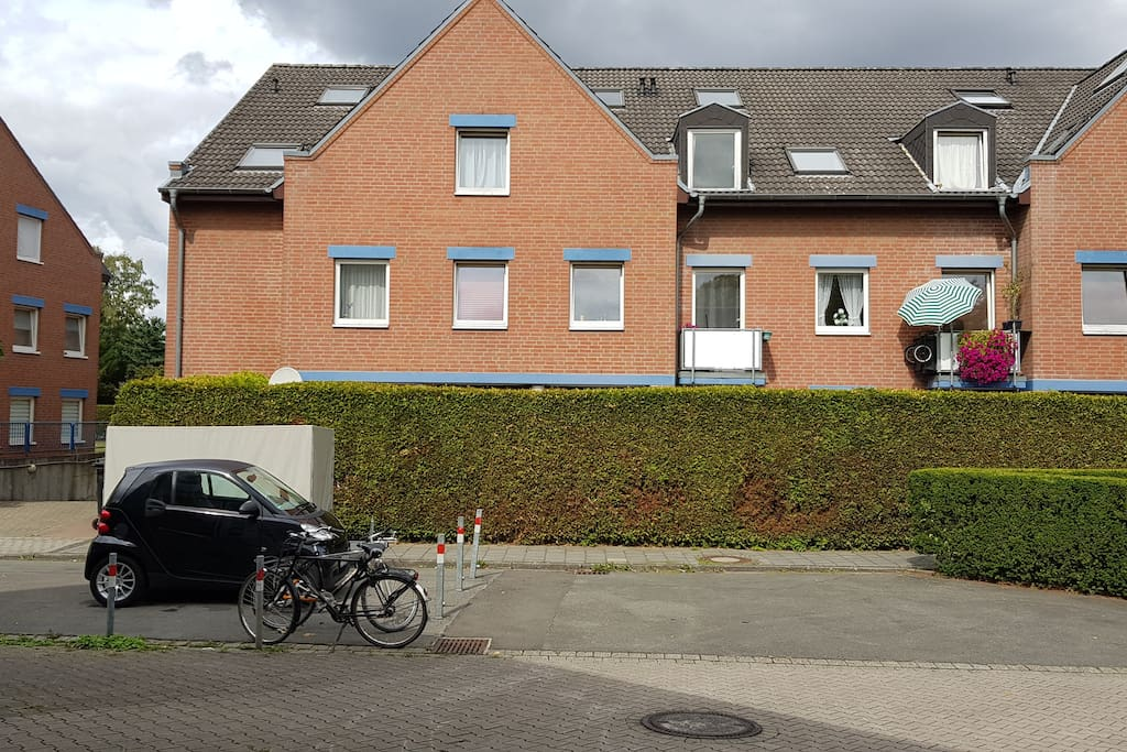 Außenansicht des Wohnobjekts