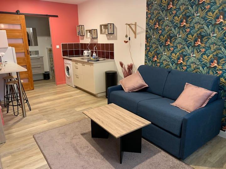 ⭐️ Studio confortable centre ville⭐️
