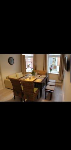 Apartment im Zentrum von Husum für 5 Personen.