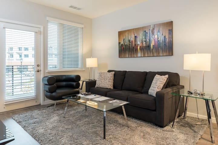 Luxury 1 BR Apt.  in the heart of Silicon Valley!