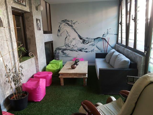 Casa super acogedora y tranquila con mucha luz - Madrid - Haus
