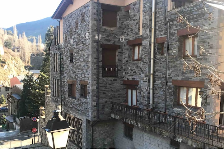 Amazing townhouse with terraces 2min from Ski lift