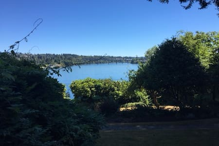 A quiet haven close to everything - Bremerton - Lejlighed