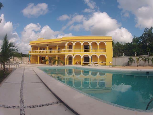 Hacienda Honorio  Tranquility and Cenotes - MX - Apartment