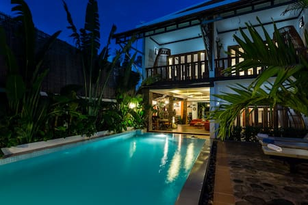 Private Pool Villa+Airport Transfer+Breakfast+Wifi - Krong Siem Reap