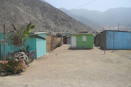 Casita prefabricada, Zona alejada de la ciudad. - Distrito de Lima