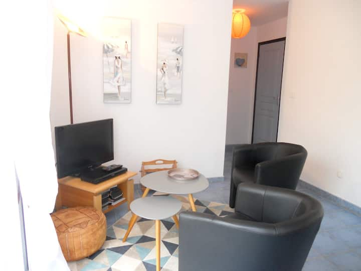 House with one bedroom in Lannion, with enclosed garden and WiFi - 3 km from the beach
