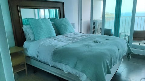 Lovely, Stylish Oceanfront Condo mnts from beach!