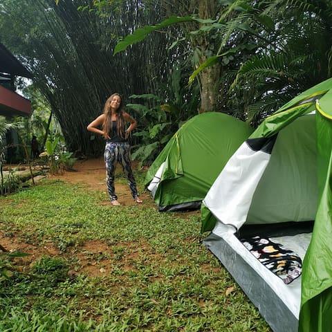 Barraca de Camping - Pe Na Areia - Praia Vermelha