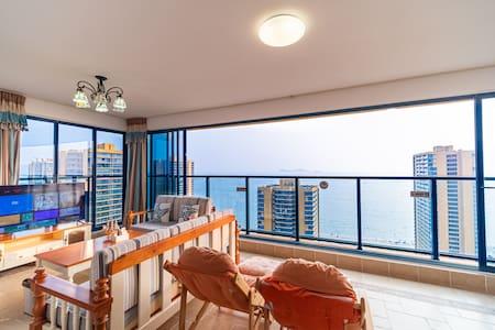 双月湾【J House·万科双月湾】|高层正海景两房| 麻将房|180度正面海景|真实房源|实景实图
