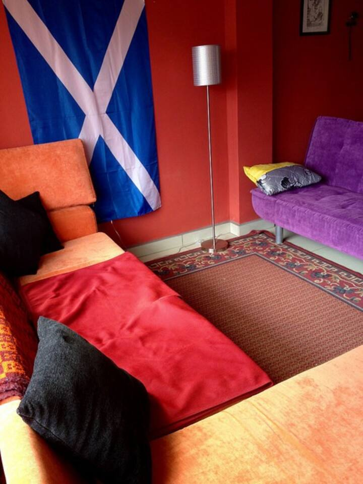Nice colourfull living room