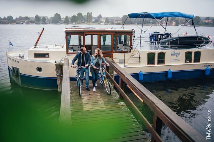 Hausboot Kormoran 1280