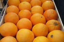 Le arance dell'azienda agricola di famiglia.