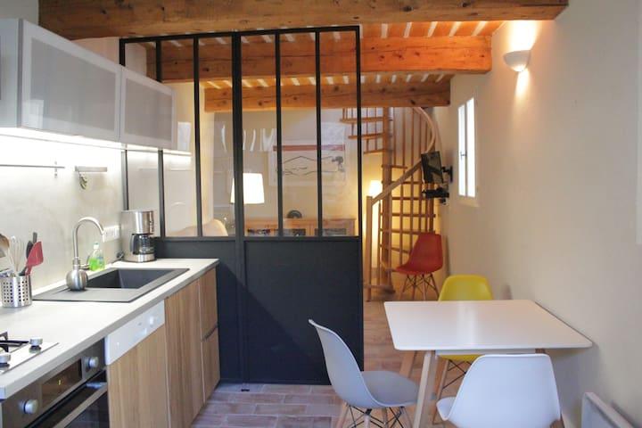 2-4 pers-Grignan-idéal pour petite famille - Grignan - Wohnung