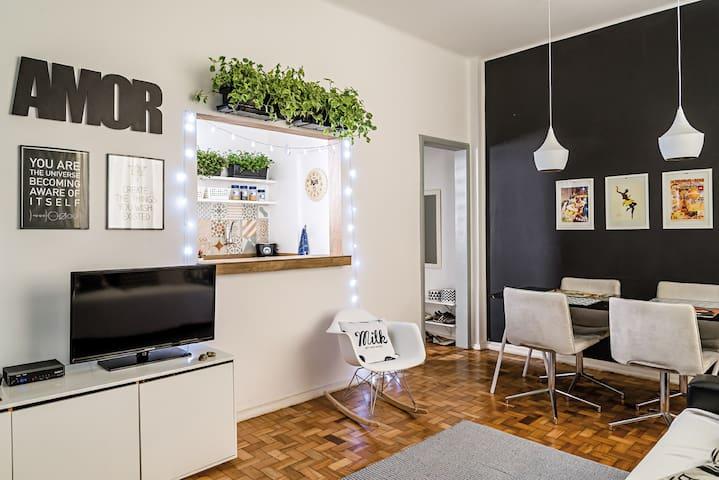 Trendy comphy 2 bedrooms in Rio - Rio de Janeiro - Huoneisto
