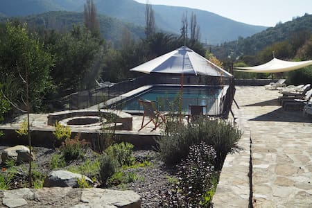 cozy mountain retreat hour from Santiago  (Caleu)