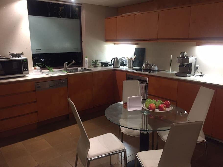 Actual photo-Kitchen & Sittings