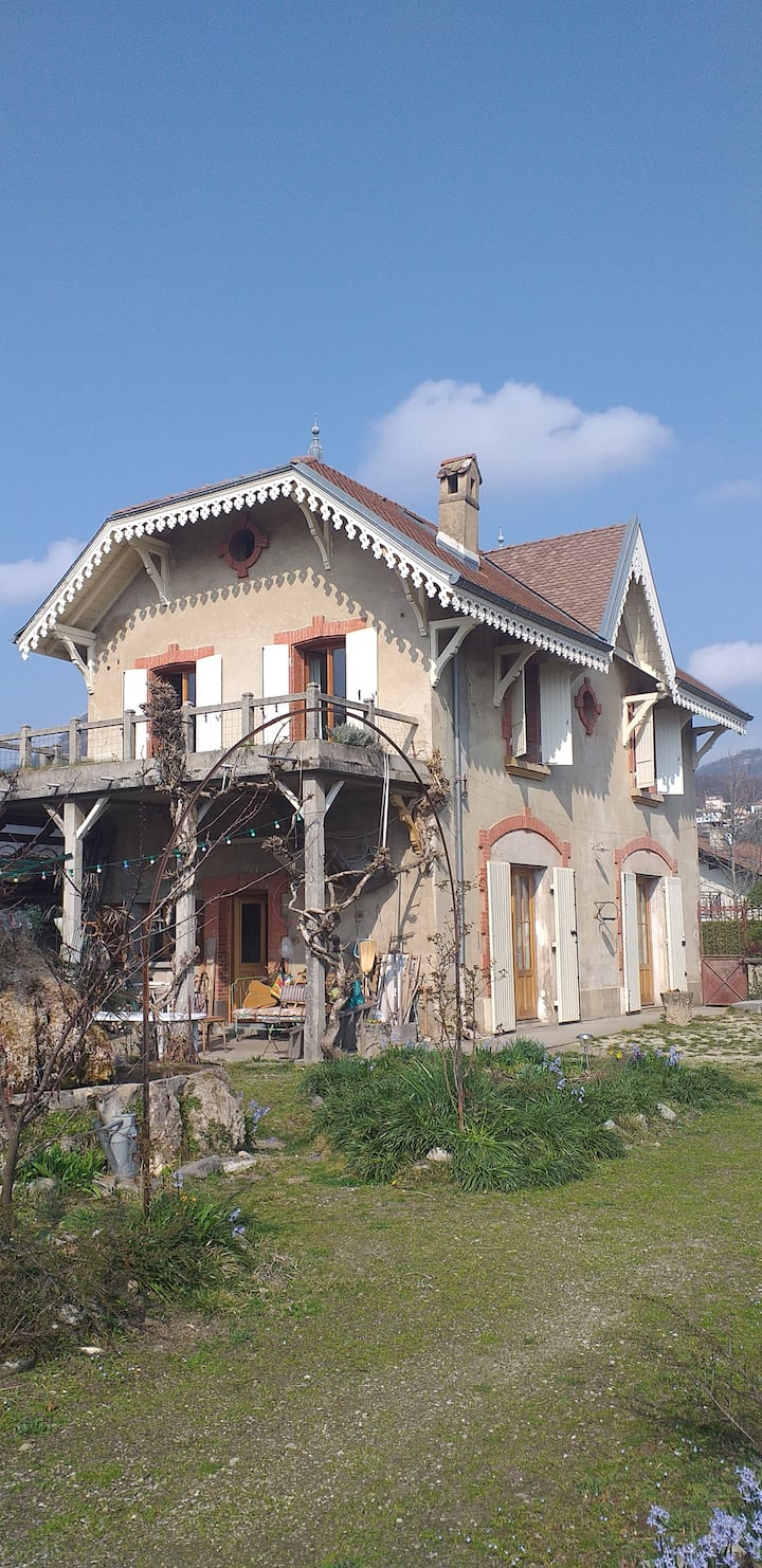 Chambre privée dans la Villa de Champ Rosé