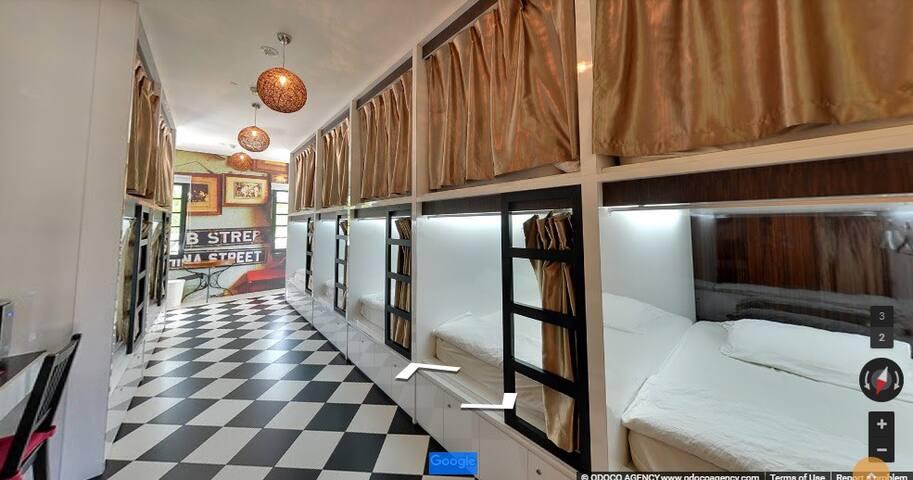 Single Capsule in dormitory near Little India MRT