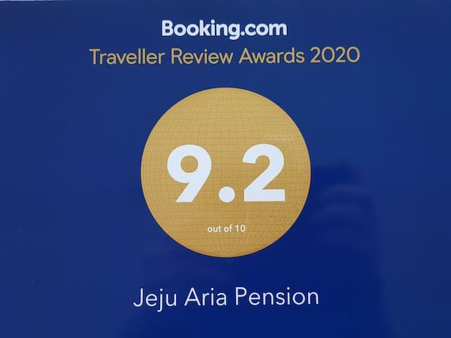 June OPEN / Jeju Aria Pension - 202 (Ocean View)
