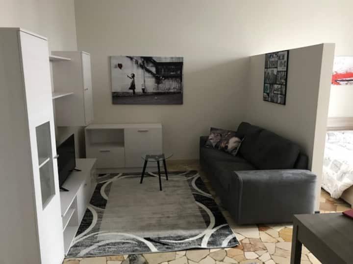 Bell'appartamento in centro Busto Arsizio