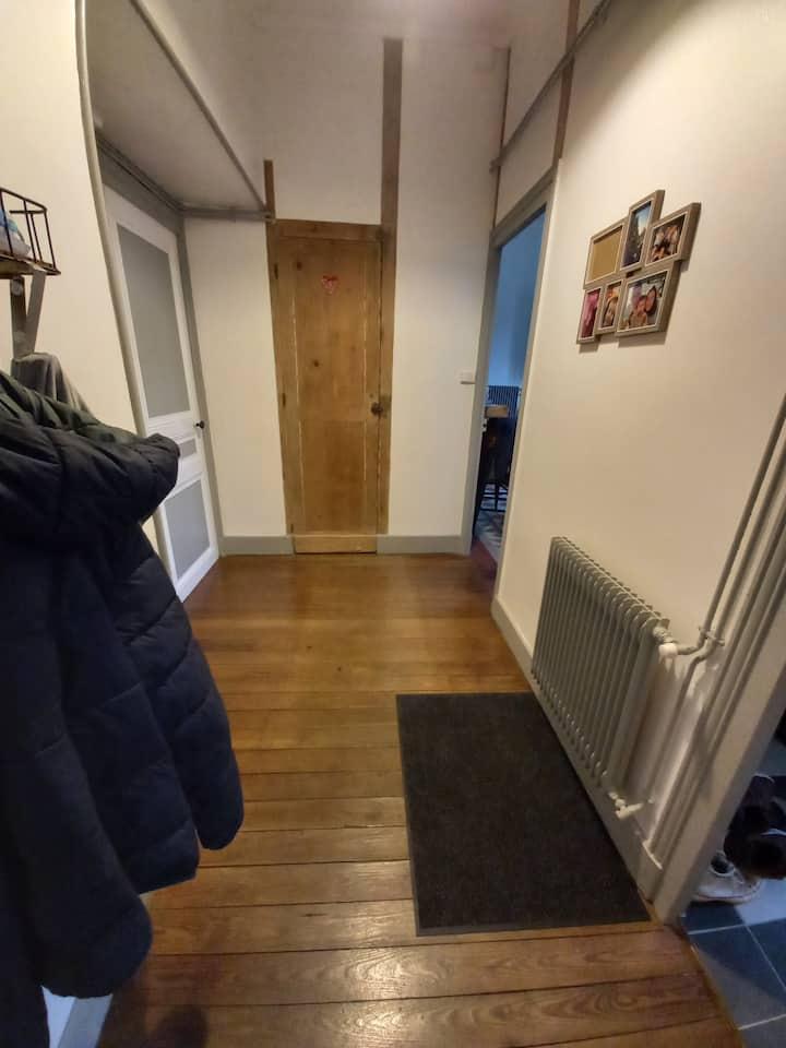 Appartement 51m² à 3mn centre ville et gare