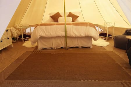 Hinterland Glamping with tranquil valley views - Main Ridge - Sátor
