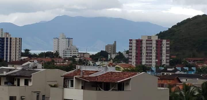 AP em Caraguá, com linda vista para Morro St Ant