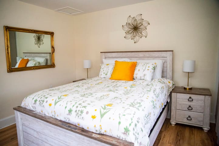 Second floor Queen Flower Bedroom