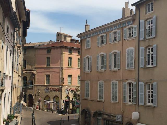 Appart de charme, centre historique - Romans-sur-Isère - Apartamento